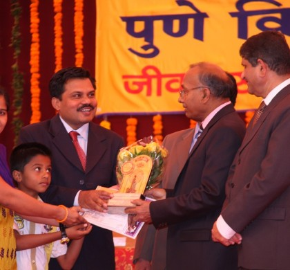 Best Teacher Award from Savitribai Phule Pune University